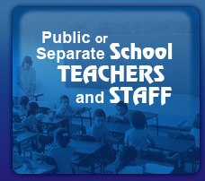 Public or Seperate Teachers and Staff
